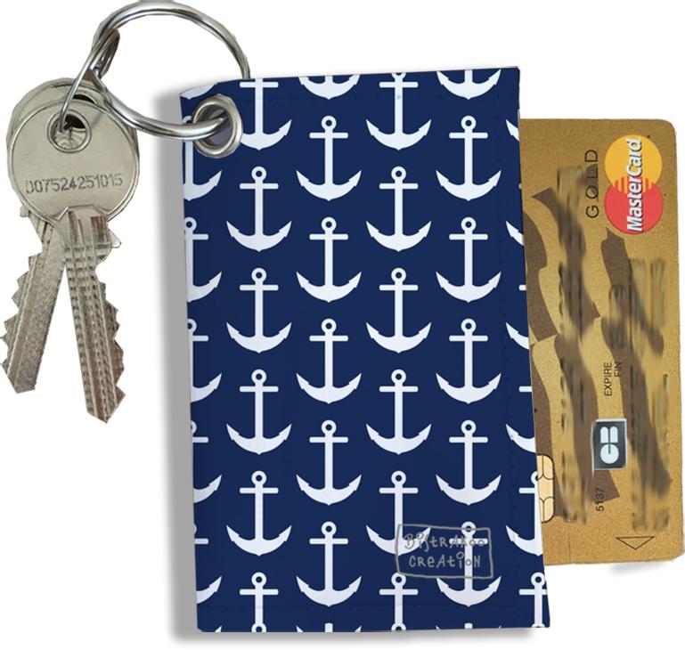 Porte-clés Pratique pour Cartes & Photos Homme, Etui Porte-clés et Cartes (2128)