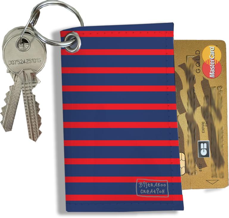Porte-clés Pratique pour Cartes & Photos Homme, Etui Porte-clés et Cartes (2170)