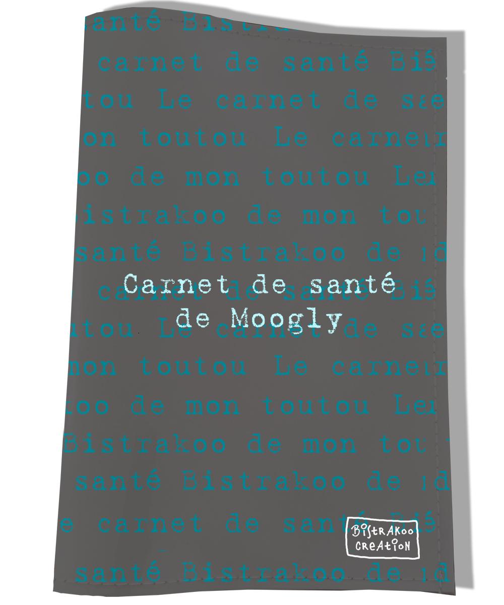 Protège Carnet de Santé personnalisé pour chien Le carnet de santé de mon toutou