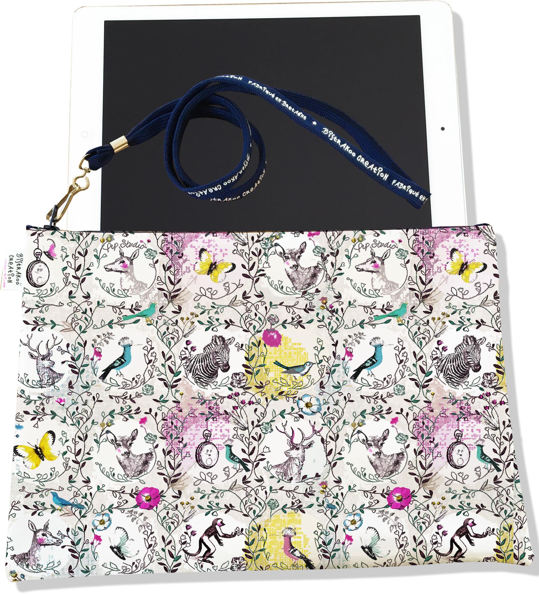 Housse pour tablette pour femme motif Floral 2221-2015