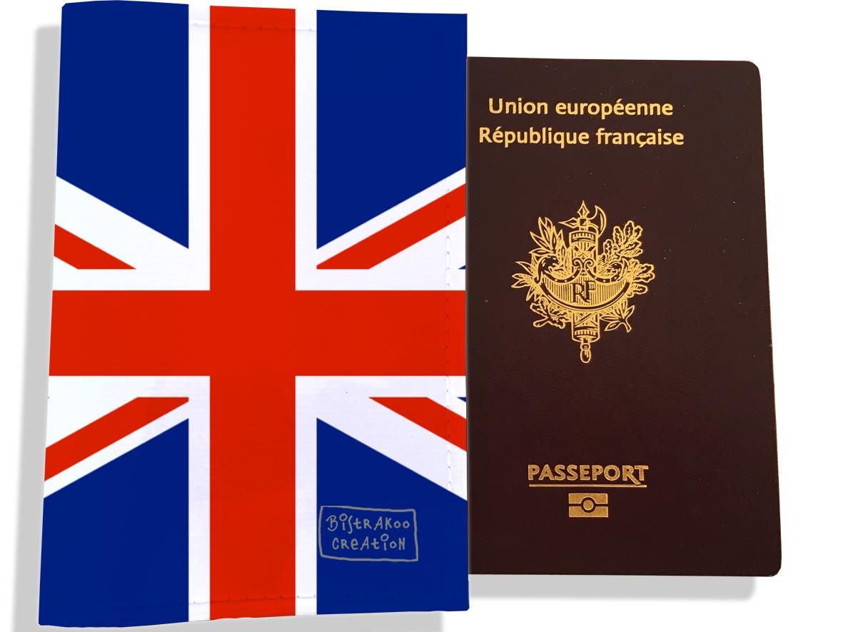 Protège passeport motif Drapeau PP1781-2019