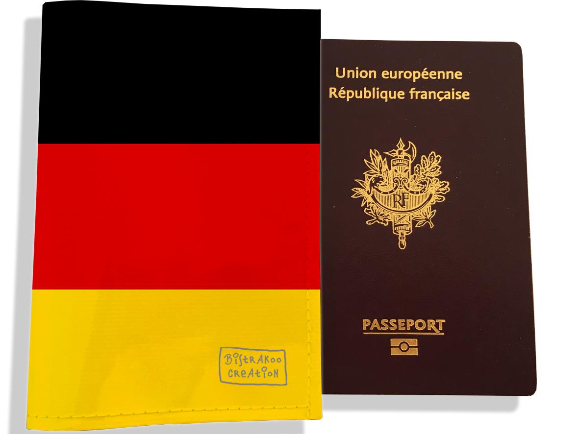 Protège passeport motif Drapeau PP1783-2019