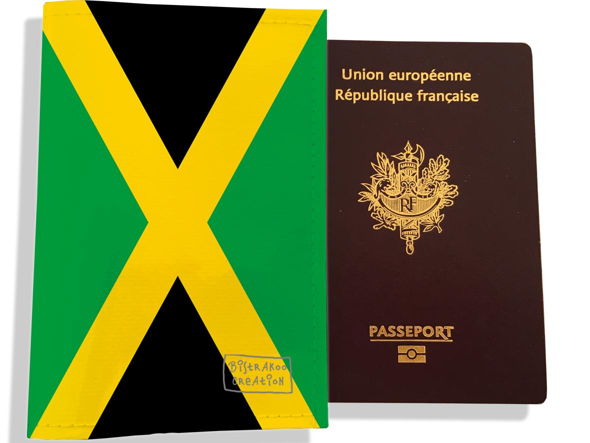 Protège passeport motif Drapeau PP1784-2019