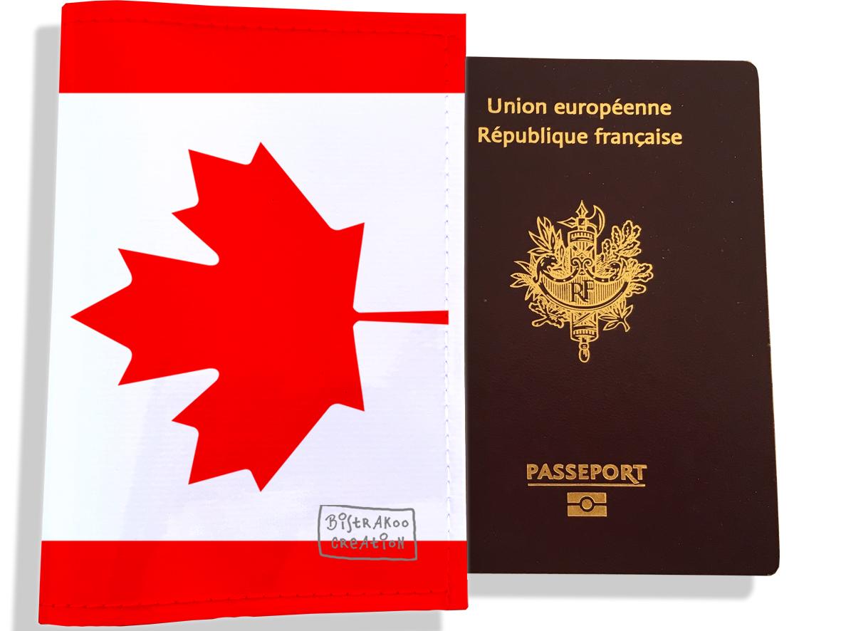 Protège passeport motif Drapeau PP1785-2019