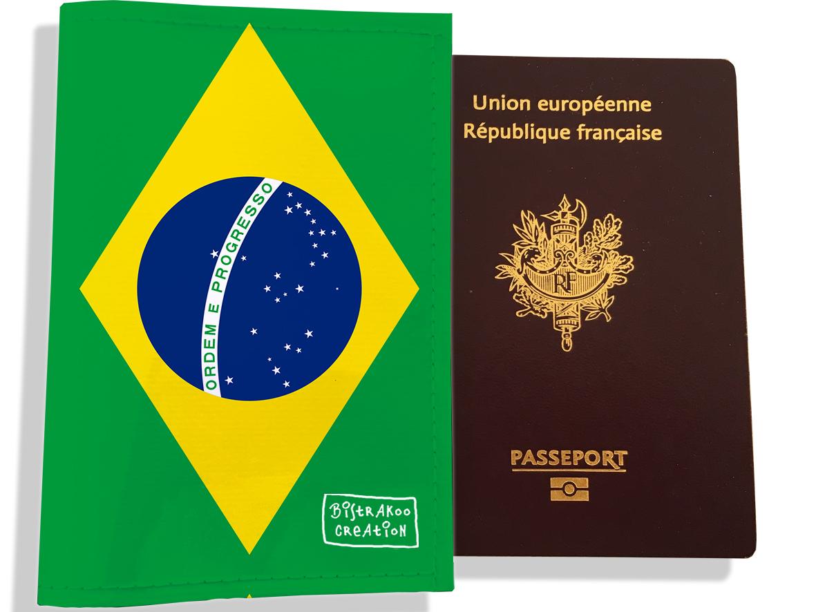 Protège passeport motif Drapeau PP1786-2019