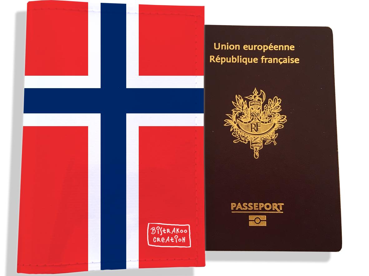 Protège passeport motif Drapeau PP1788-2019