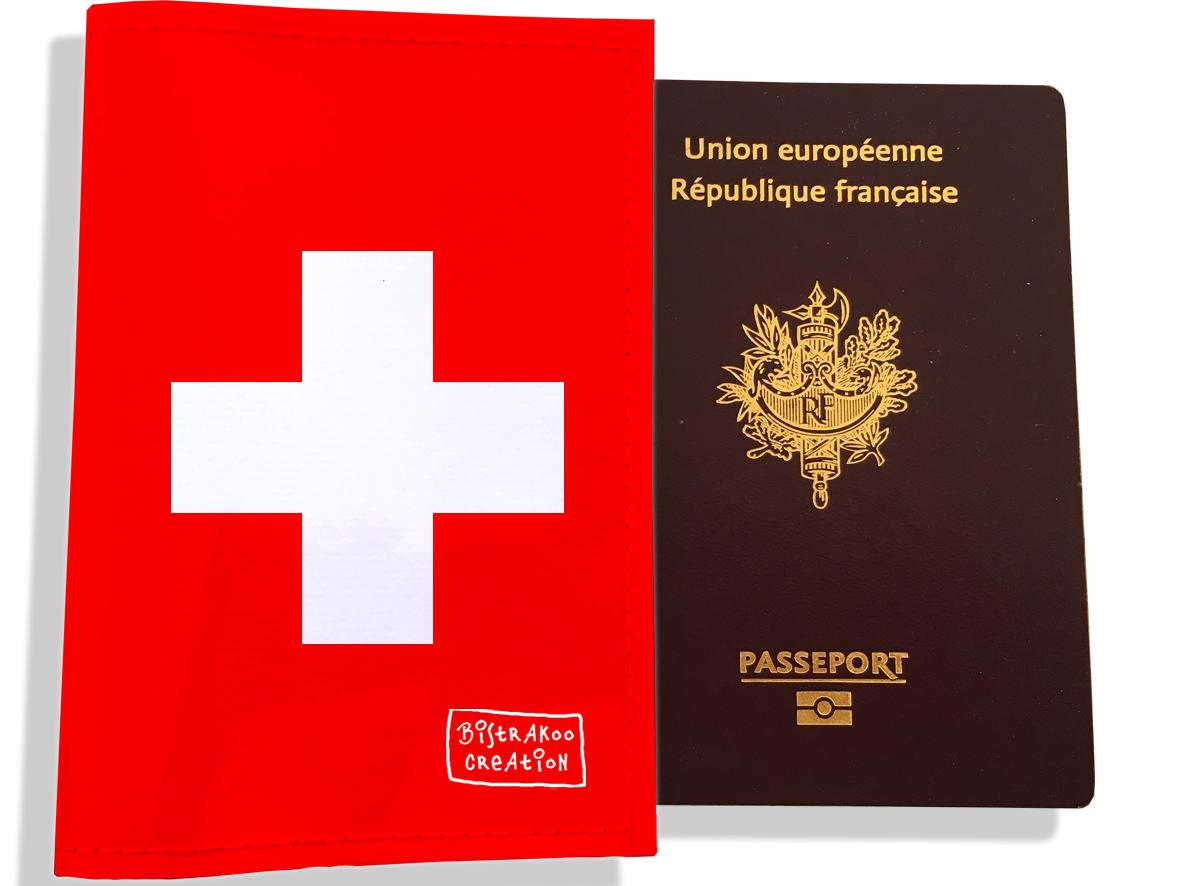 Protège passeport motif Drapeau PP1790-2019