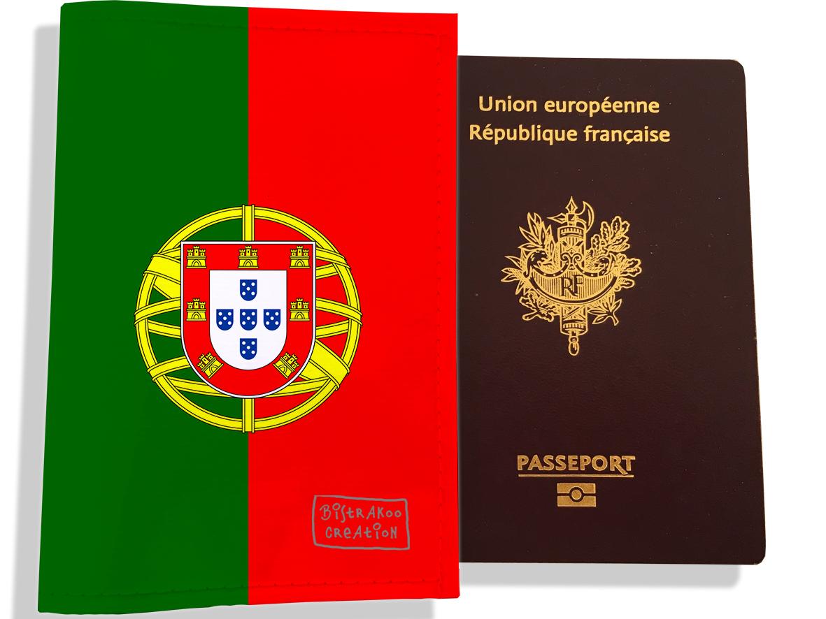 Protège passeport motif Drapeau PP1791-2019
