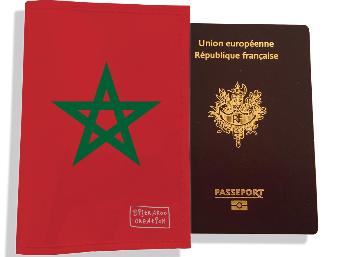 Protège passeport motif Drapeau PP1792-2019
