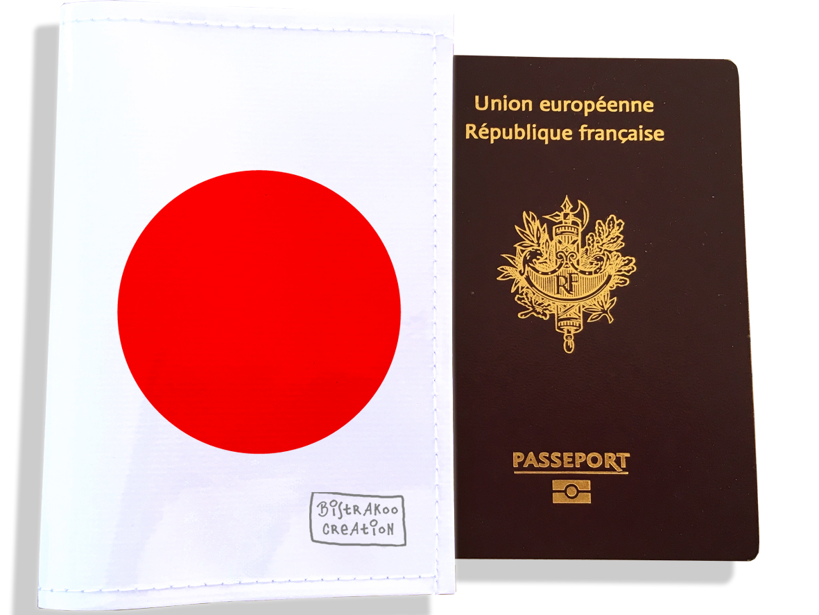 Protège passeport motif Drapeau PP1793-2019