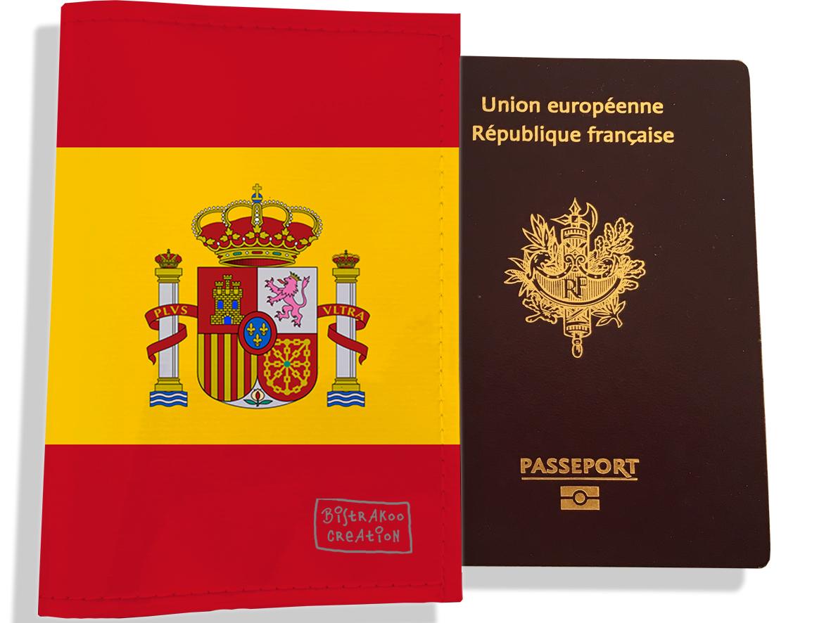 Protège passeport motif Drapeau PP1794-2019