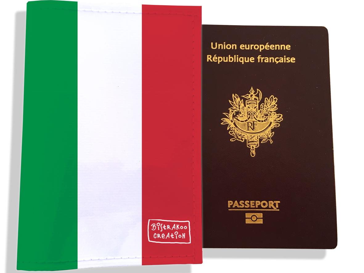 Protège passeport motif Drapeau PP1795-2019