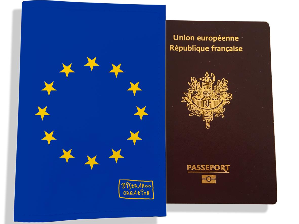 Protège passeport motif Drapeau PP1798-2019