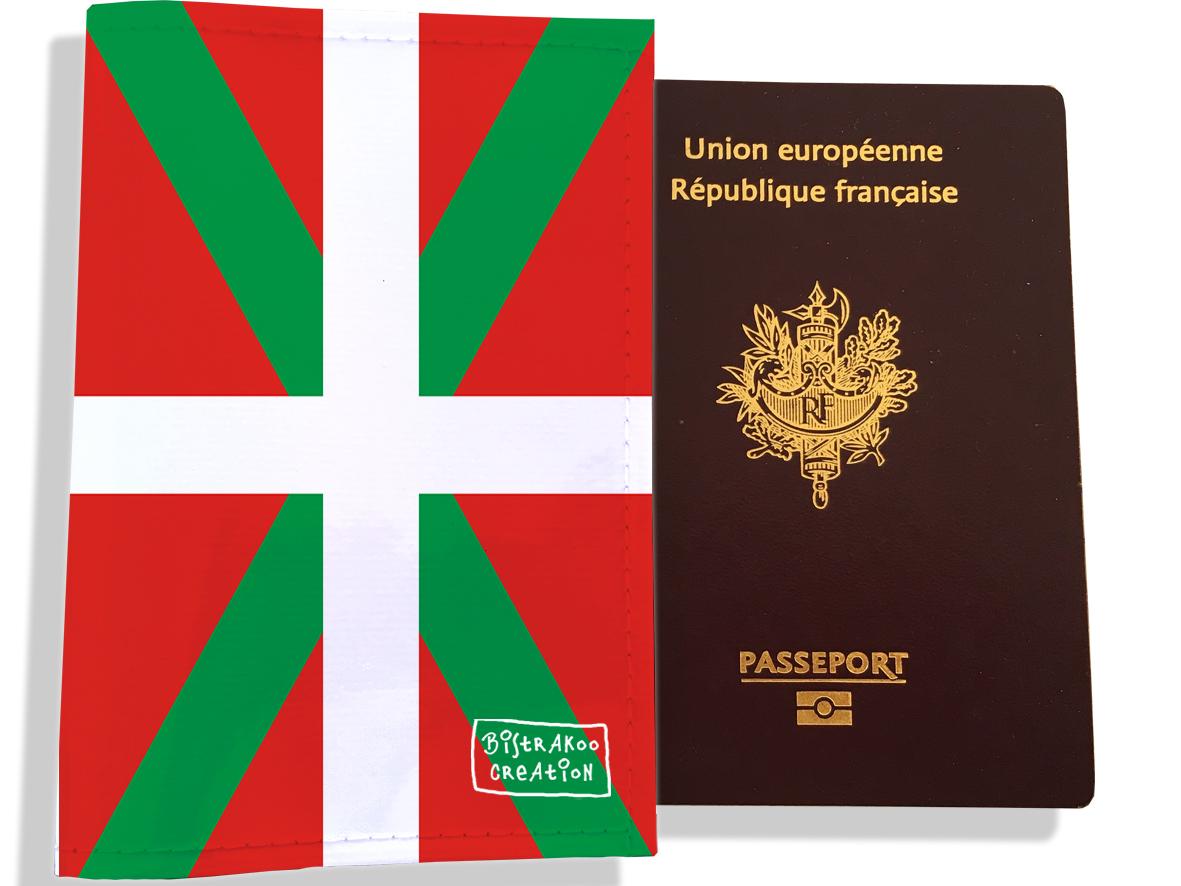 Protège passeport motif Drapeau PP1799-2019