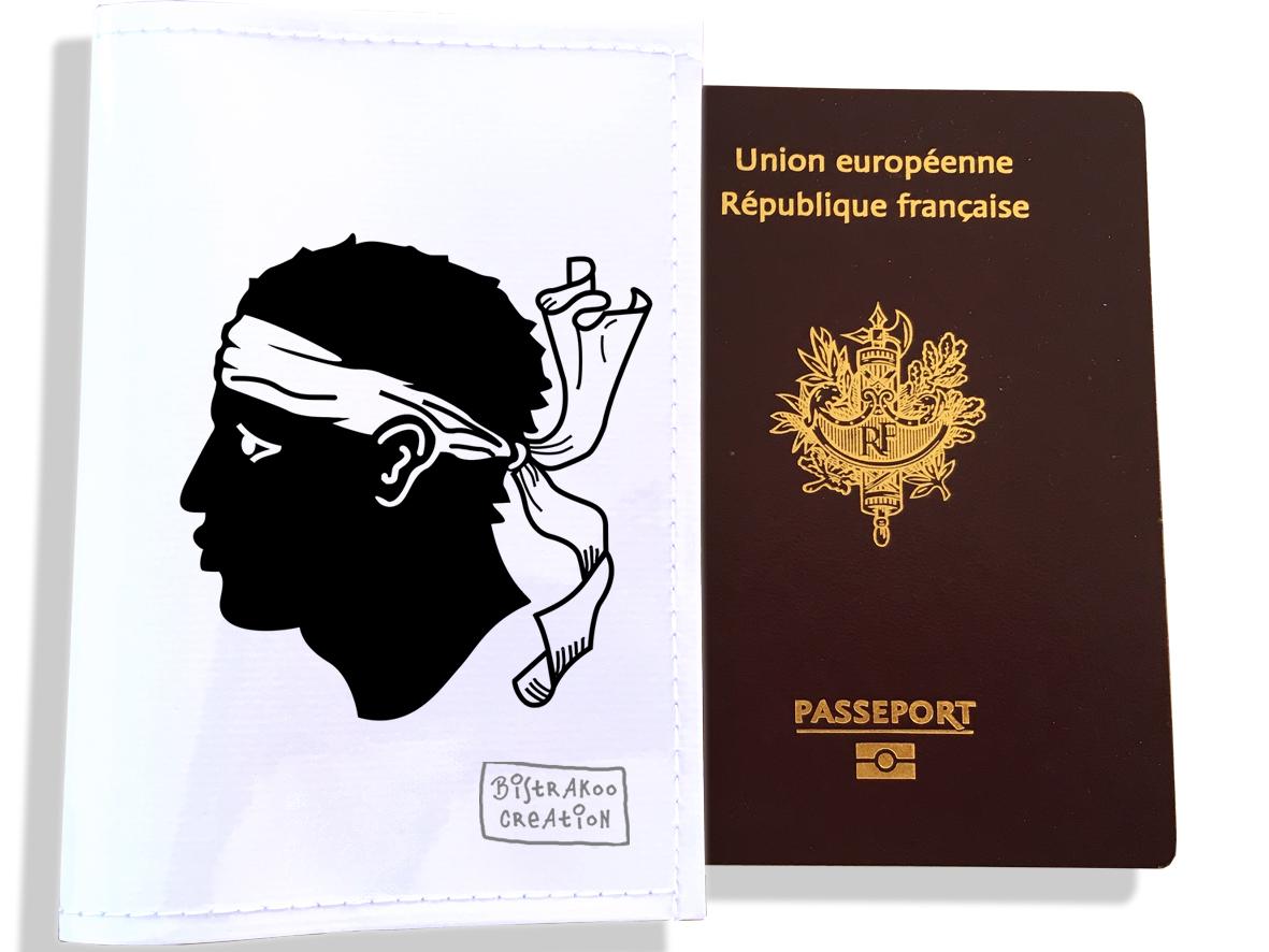 Protège passeport motif Drapeau PP1801-2019