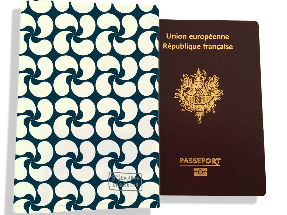 Protège passeport motif Drapeau PP1802-2019