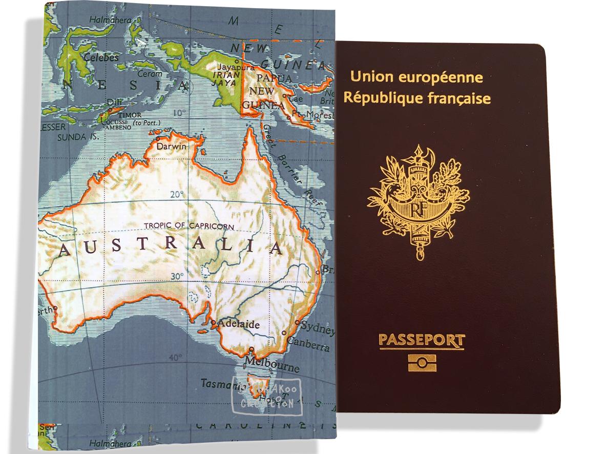 Protège passeport motif Drapeau PP1932-2019