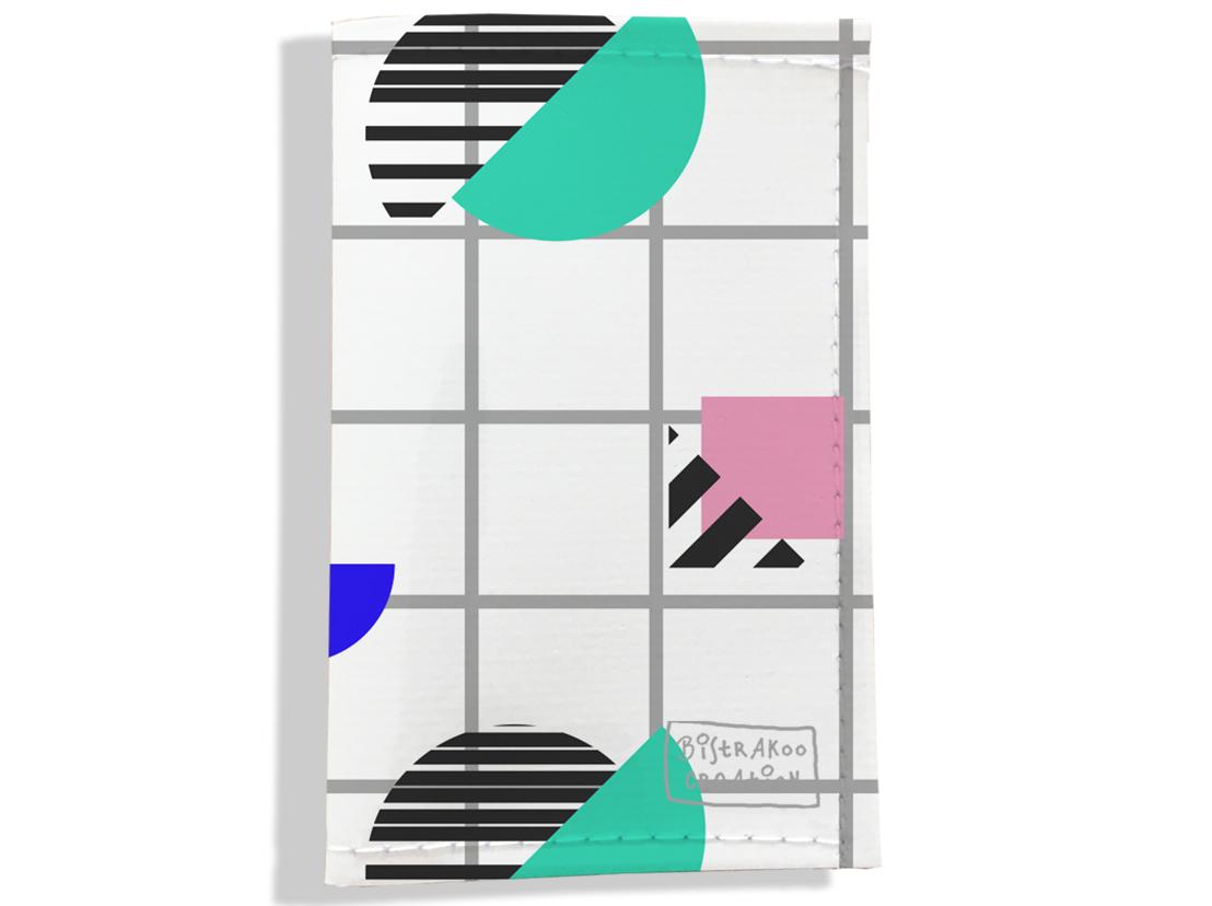 Porte carte grise, Porte carte de transport pour femme motif Graphique PPV6016-2019