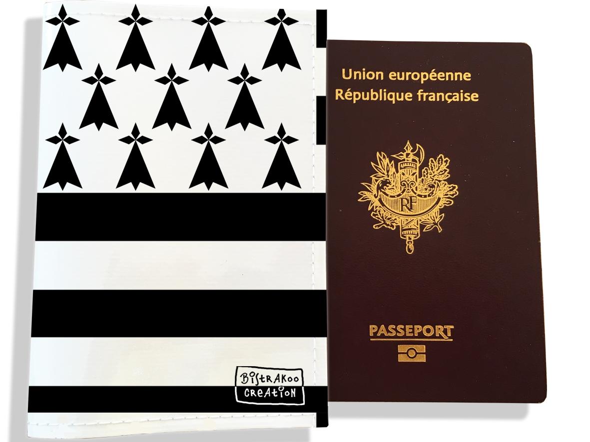 Protège passeport motif Drapeau PP1935-2019