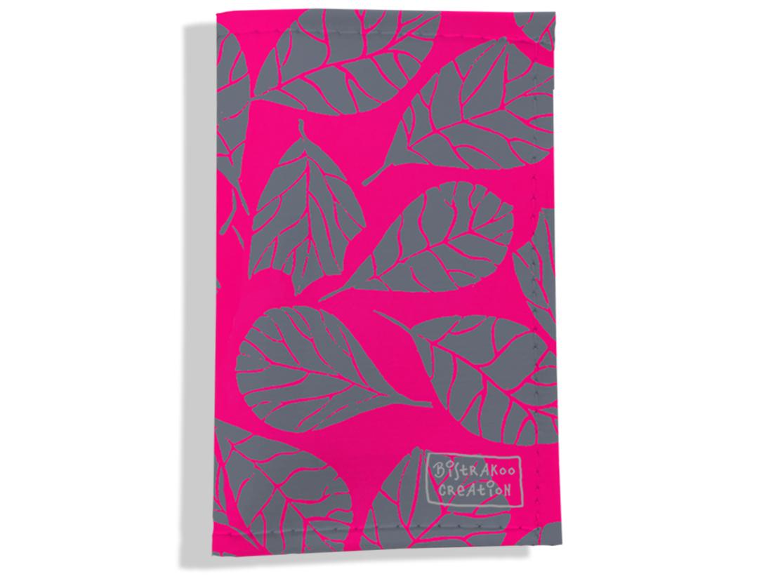 Porte carte grise pour femme motif Feuillage PCG6024