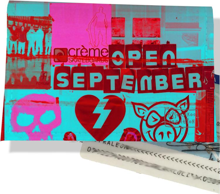 Porte carte d\'identité pour femme motif Street art PCI6022