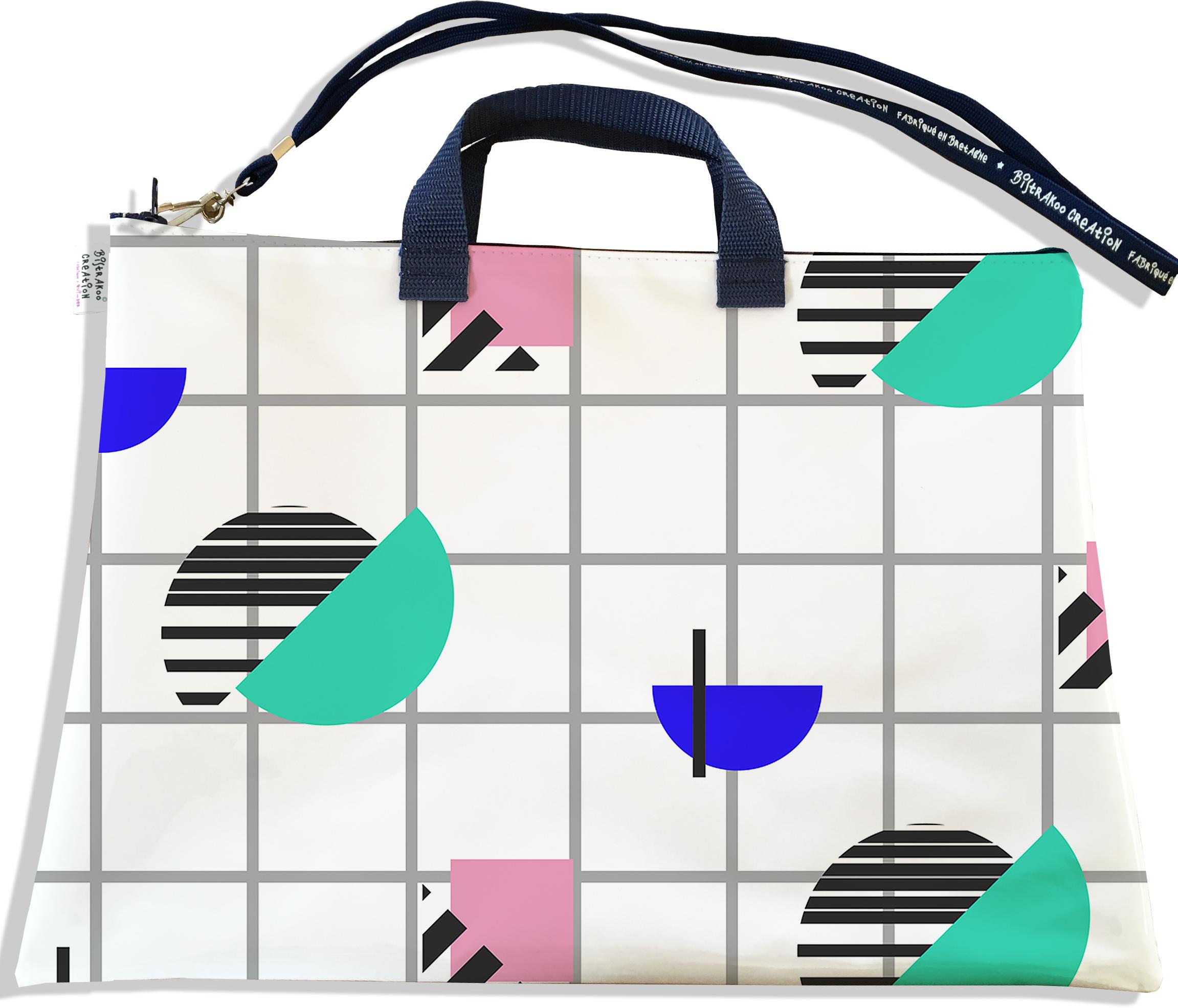 Sacoche ordinateur portable 11 & 13 pouces pour femme motif Graphique SOP6017