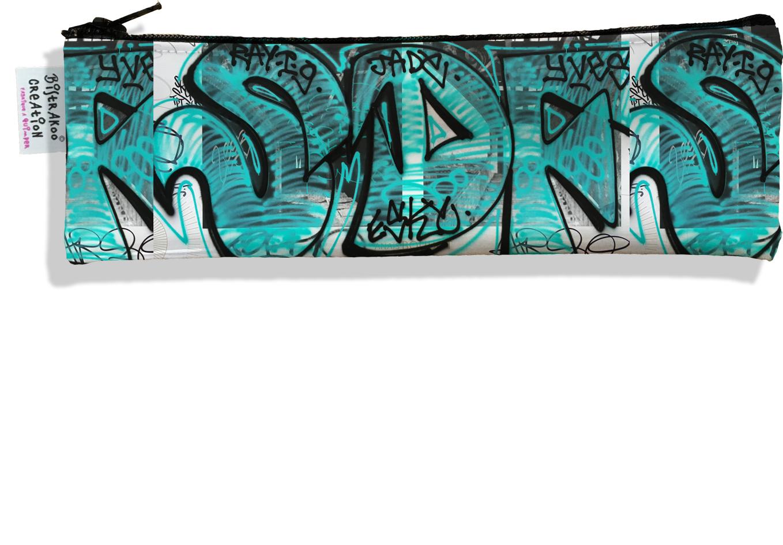 Trousse à brosse à dents pour femme Street art TBD6020