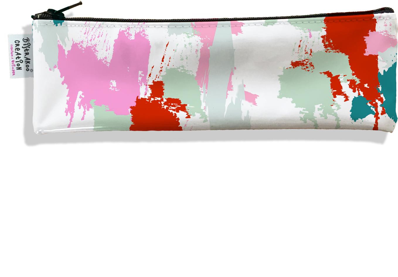 Trousse à brosse à dents pour femme motif Taches Peinture multicolores TBD6001-2019