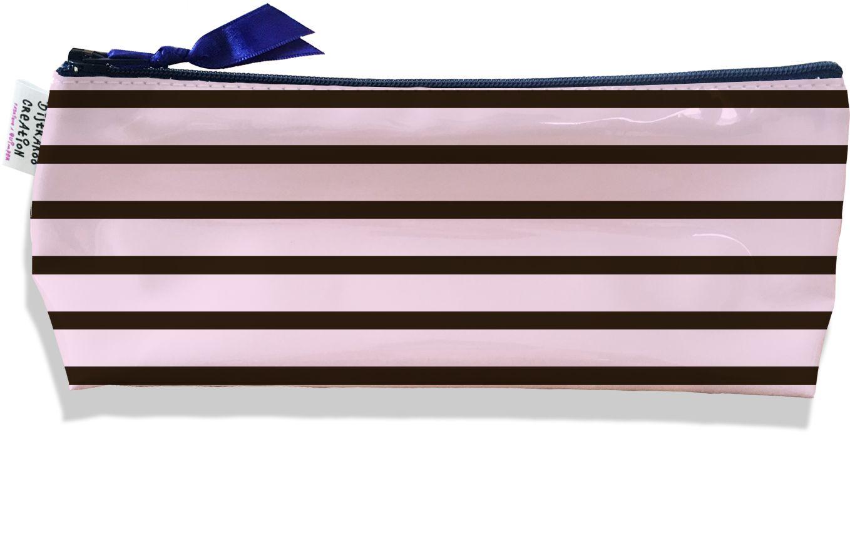 Trousse scolaire, Trousse d\'école, Trousse à Crayons ou Maquillage Marinière TS1733