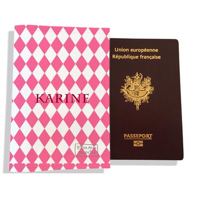 Protège passeport personnalisable pour femme Graphique