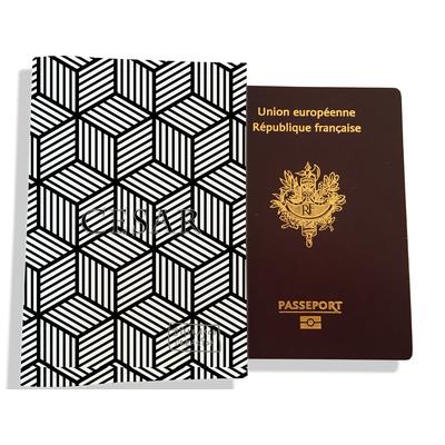 Protège passeport personnalisable pour homme Graphique