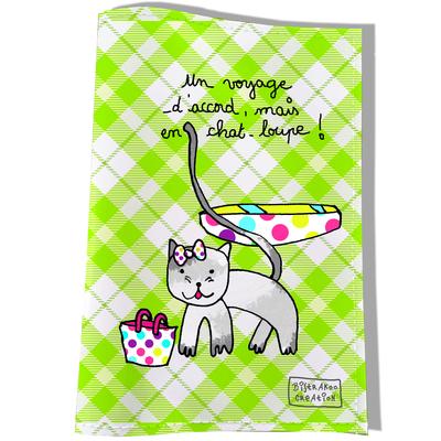 Protège passeport pour chat En chat-loupe !