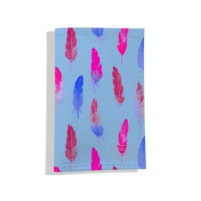 Porte carte grise pour femme Plumes