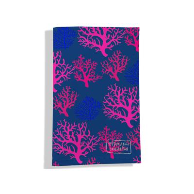 Porte carte grise pour femme Corail