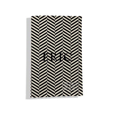 Porte carte grise personnalisable pour homme Chevrons