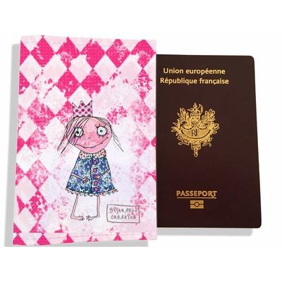 Protège passeport fille enfant Petite princesse PP7120