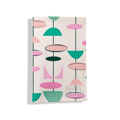 Porte-papiers de voiture Atomic rose vert 3203-2017