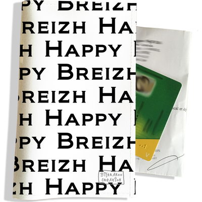 Porte ordonnance et carte vitale Happy Breizh PO8004