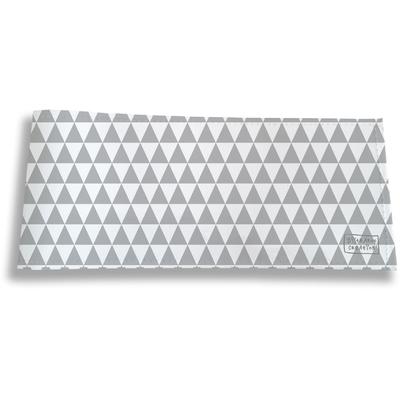 Porte-chéquier long horizontal pour femme Graphique gris 2082