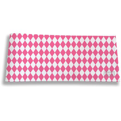 Porte-chéquier long horizontal pour femme Graphique rose 2076