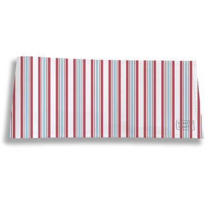 Porte-chéquier long horizontal pour homme Bayadère multicolore 2144