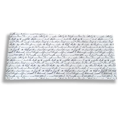 Porte-chéquier long horizontal pour homme écriture bleue marine 2141