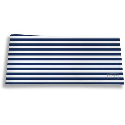 Porte-chéquier long horizontal pour homme Marinière bleue 2131