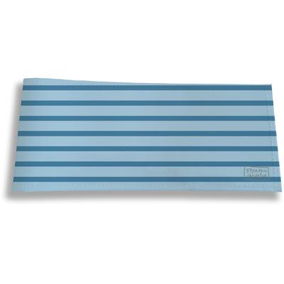 Porte-chéquier long horizontal pour homme Marinière bleue 2169