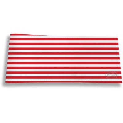Porte-chéquier long horizontal pour homme Marinière rouge 2124