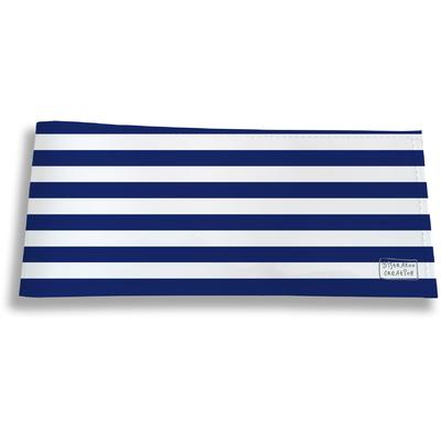 Porte-chéquier long horizontal Marinière bleu marine 2377