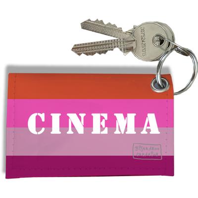 Porte-clés Carte de cinéma, Etui Porte-clés Carte de cinéma Réf. 947