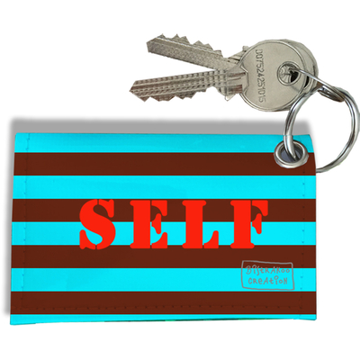 Porte-clés carte de self, Etui porte-clés carte de self Réf. 935