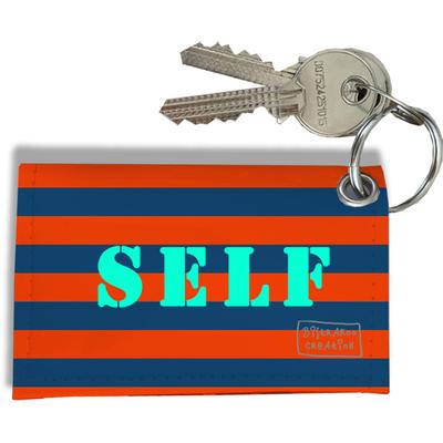 Porte-clés carte de self, Etui porte-clés carte de self Réf. 936