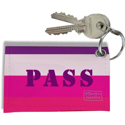 Porte-clés carte pass Navigo, Etui porte-clés carte pass Navigo Réf. 942
